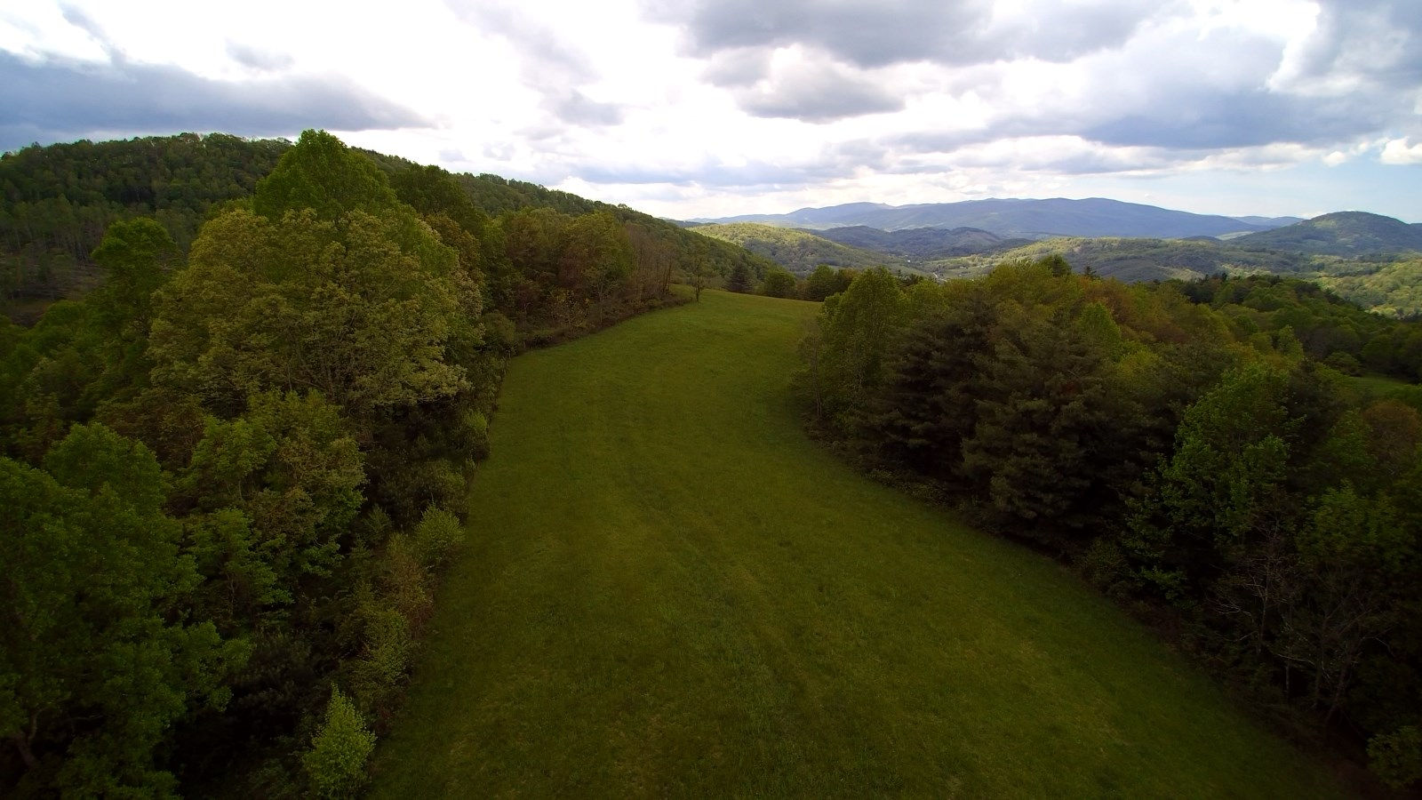 Large Acreage with Big Views in Blue Ridge Mountains.
