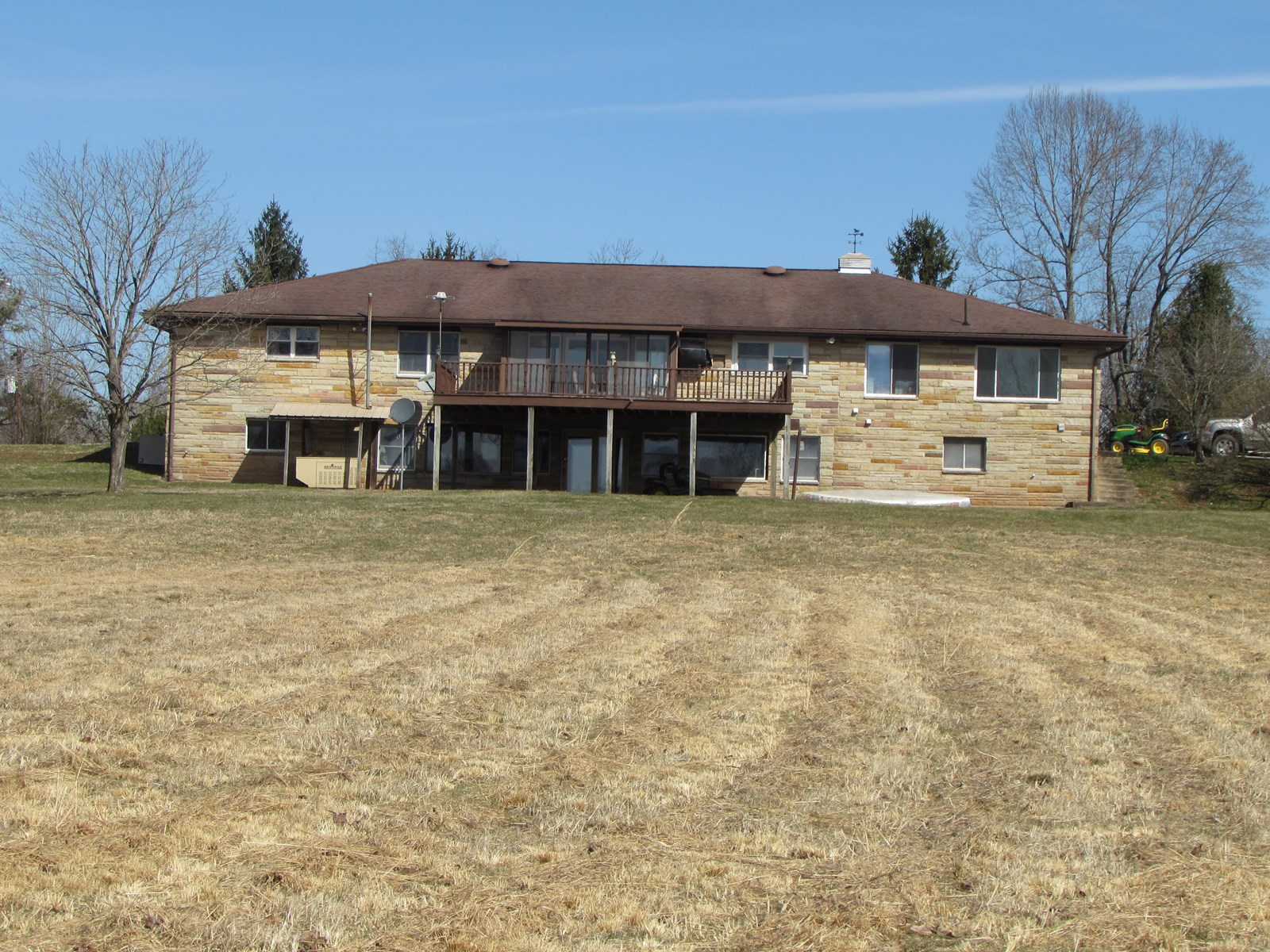 234.12 Acres and Large Stone Home in Creston WV