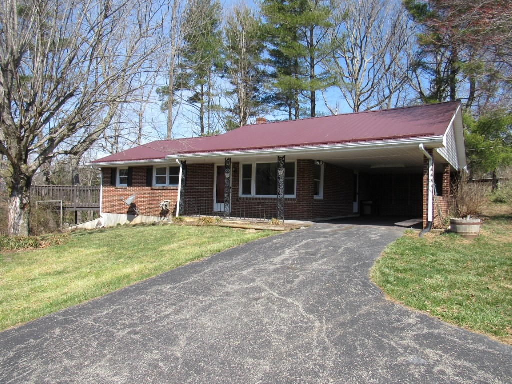 One Story Home for Sale in Floyd, VA