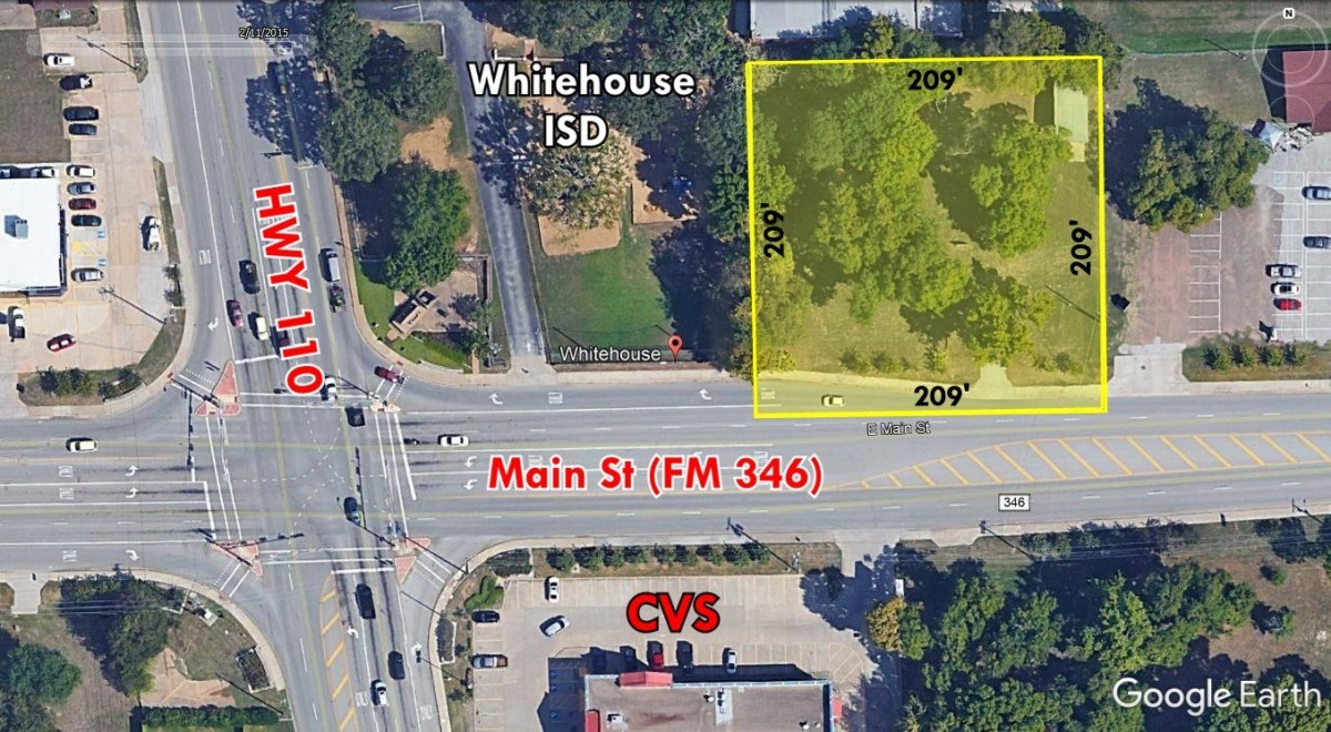 COMMERCIAL LAND FOR SALE MAIN STREET WHITEHOUSE LEVEL ACRE