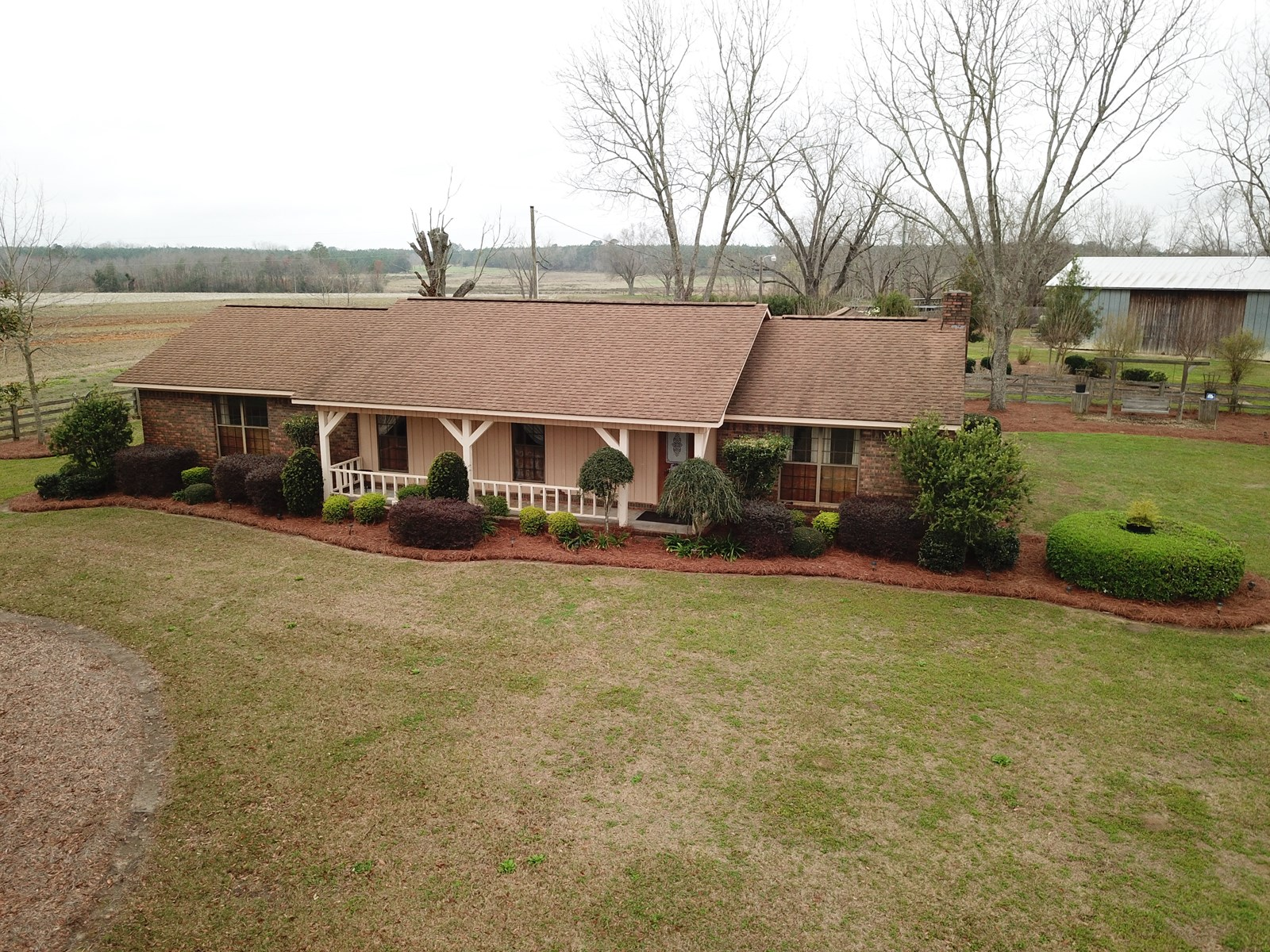 6 ACRES CROPLAND W FARM HOUSE FOR SALE IN SLOCOMB, ALABAMA