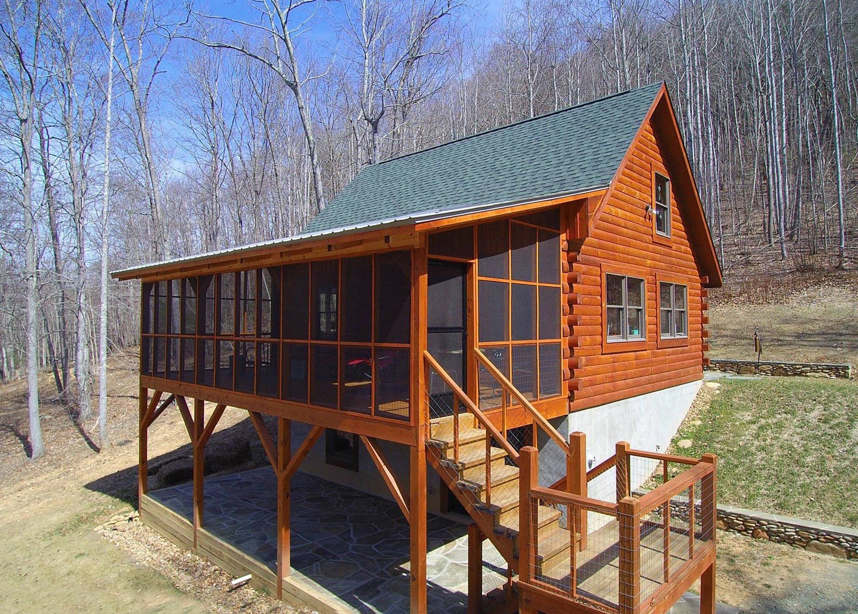 Cabin on Acreage in Blue Ridge Mountains
