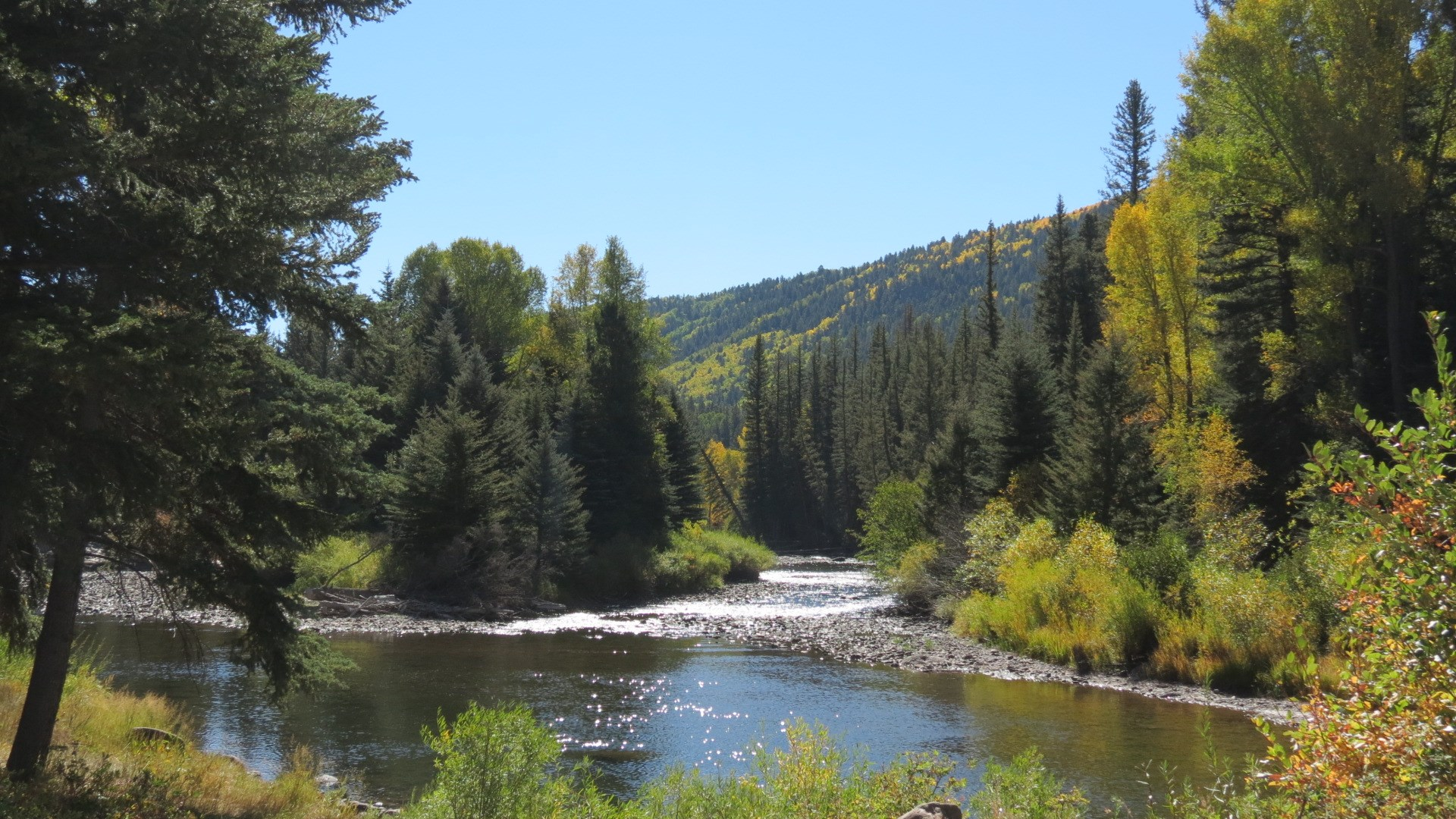 Colorado Riverfront Fly Fishing Mtn Recreation Lot For Sale