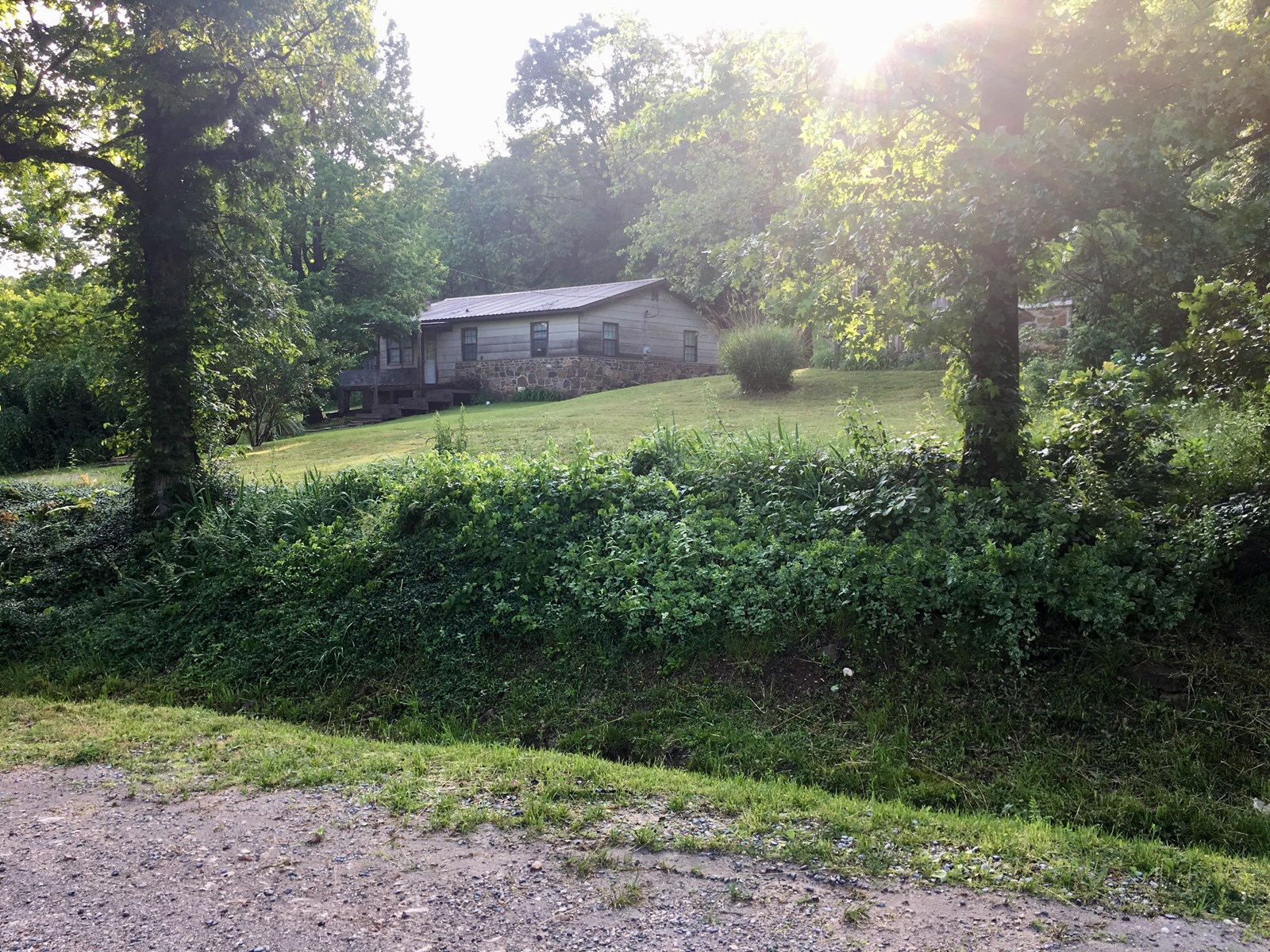 Country Cabin For Sale near Marshall, Arkansas