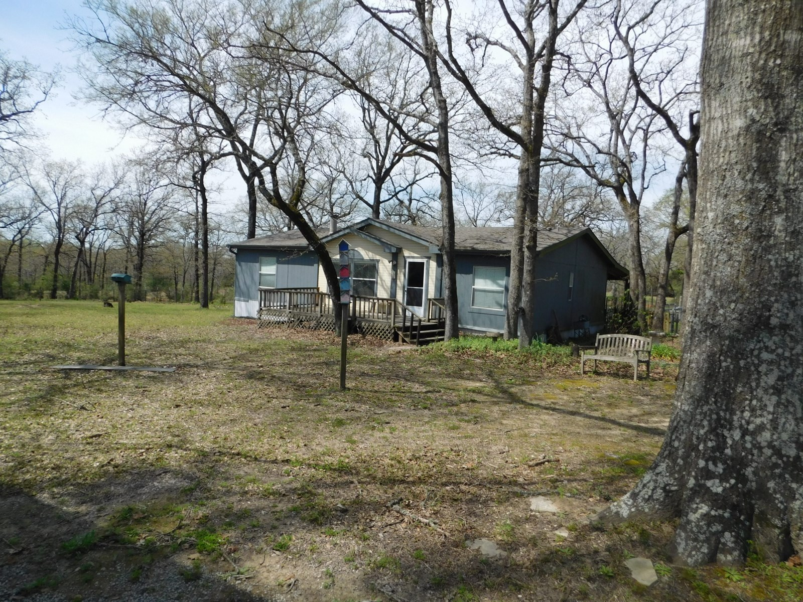 House and Land For Sale - Buffalo, TX - Leon County, Texas