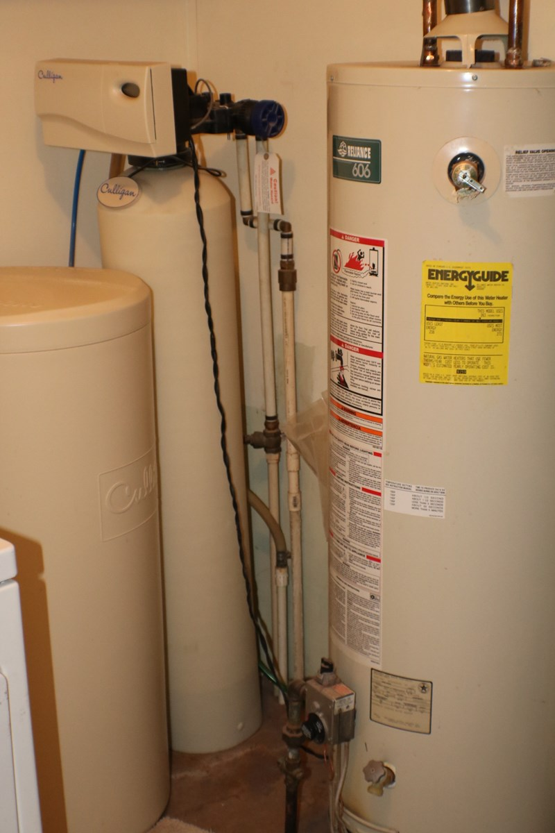Culligan water softener/ hot water tank