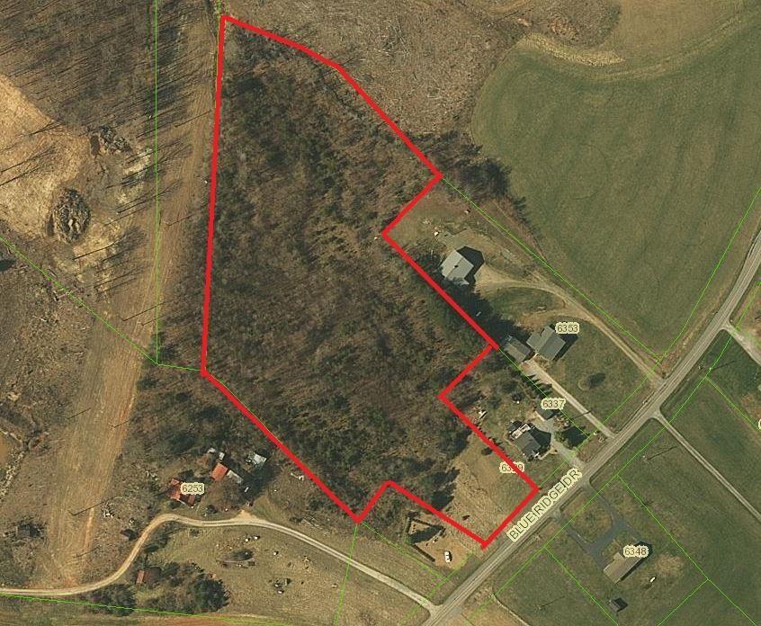 7 acre lot in Pittsylvania County, VA