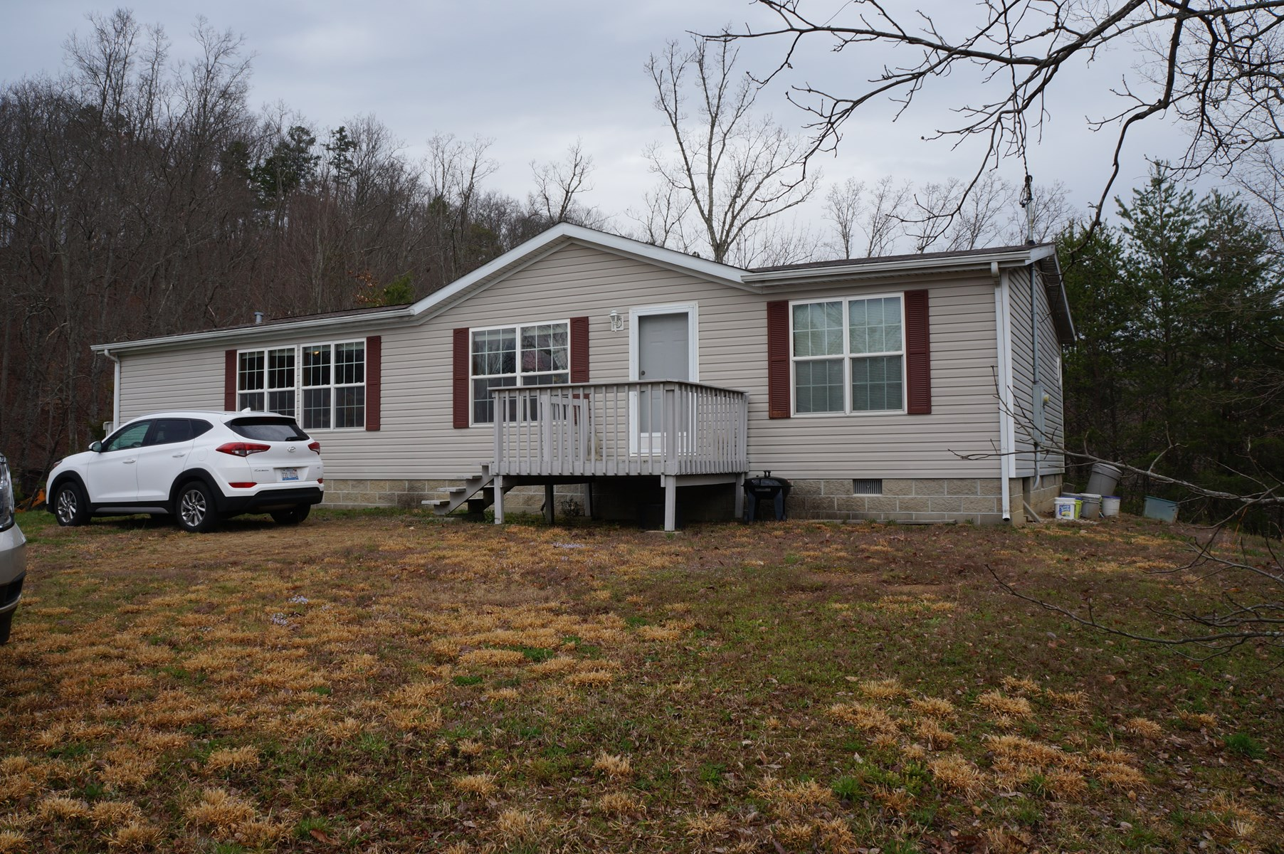 18.72 Wooded Acres With 3 BR, 2 BA Home in East TN