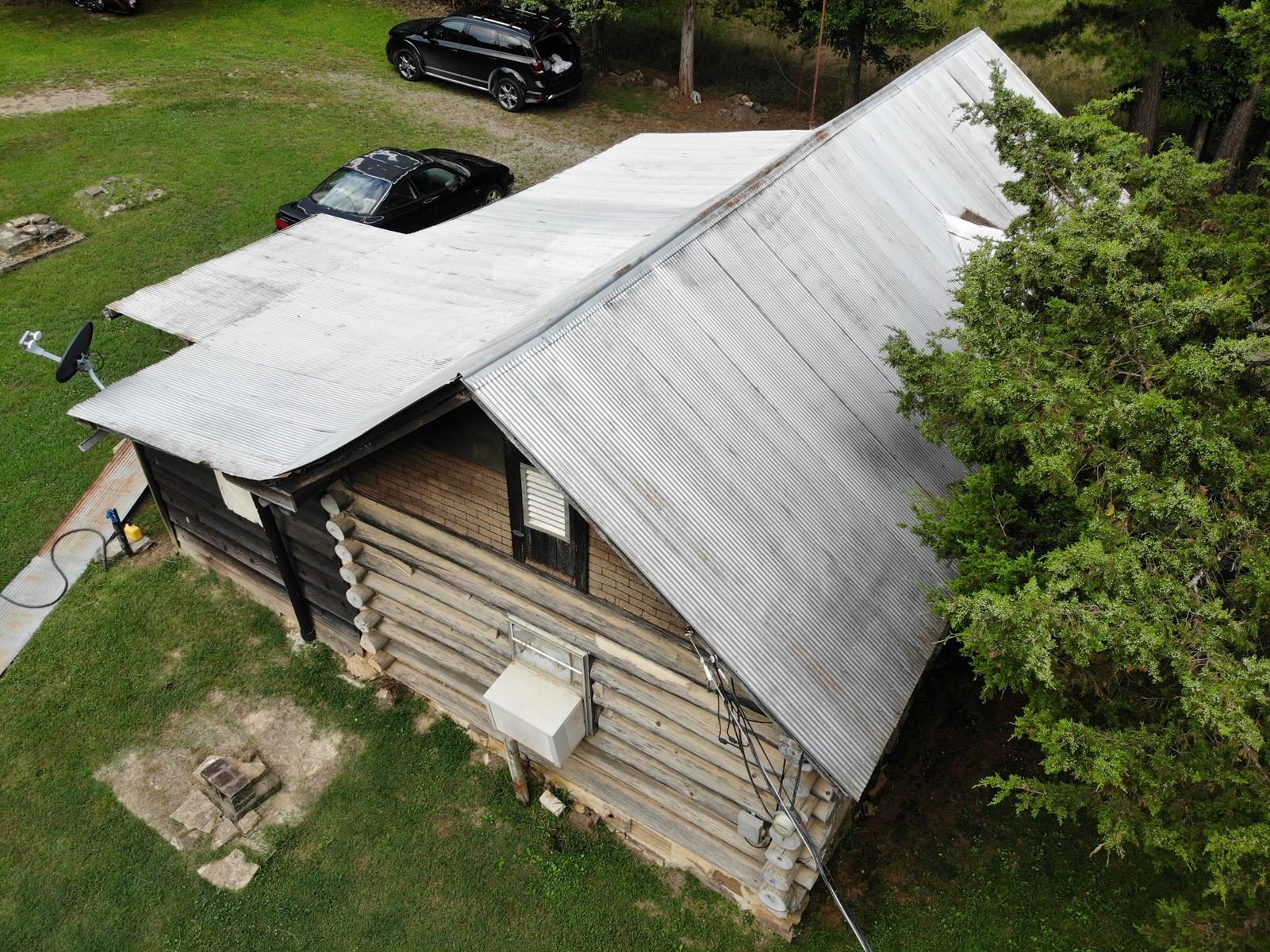 Rustic Cabin With Stocked Fishing Pond in Van Buren County