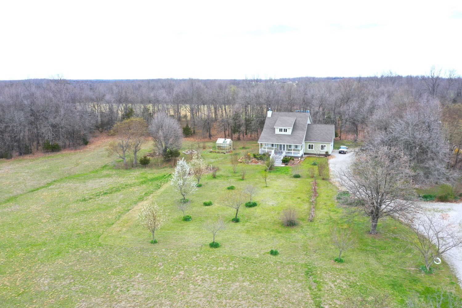 Howell County Hobby Farm with Newer Home for Sale