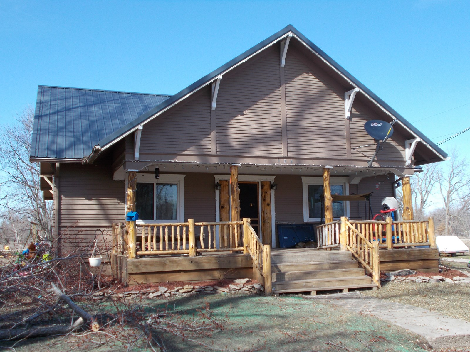 One Story Home For Sale in Small Rural Community