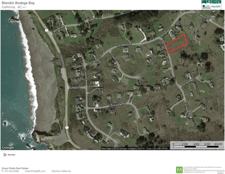 Northern California, Bodega Bay Land For Sale
