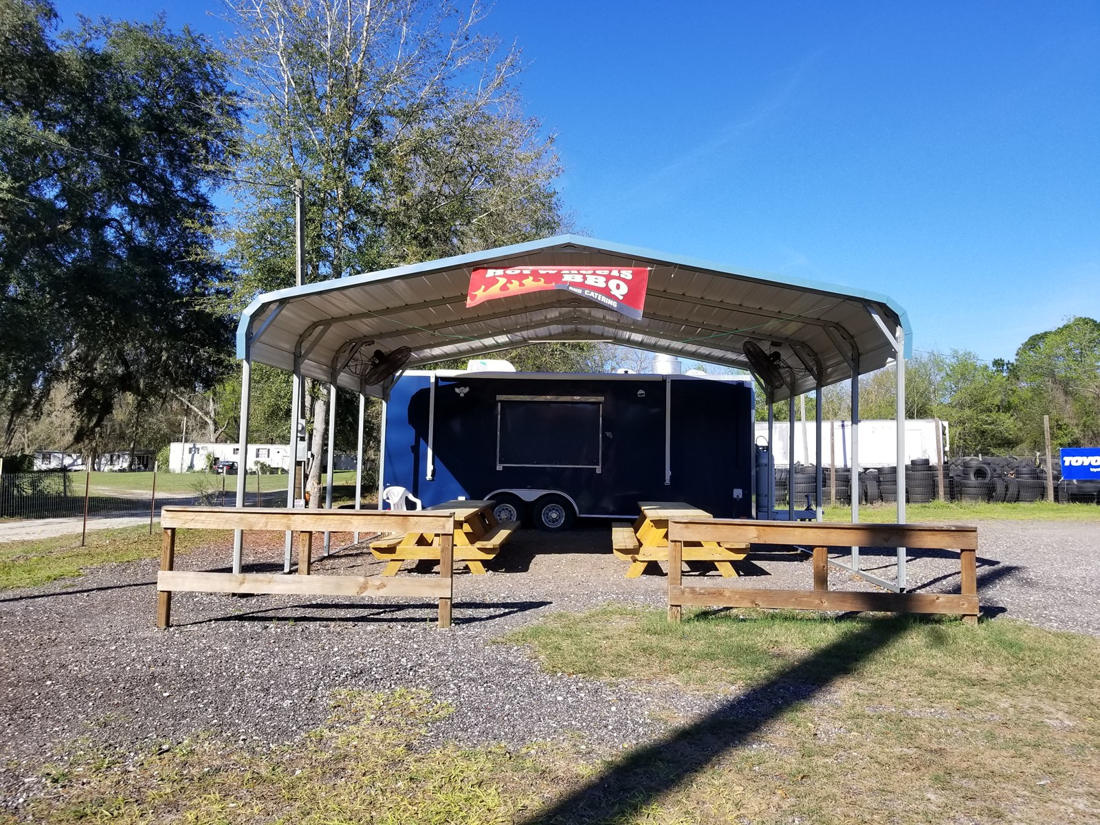 BBQ Food Truck Located in Worthington Springs Florida