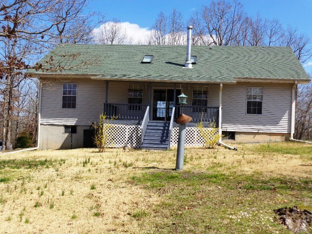 Country home and acreage for sale in North Central Arkansas