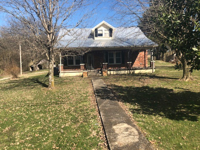 Two story brick home for sale, Burkesville, Kentucky