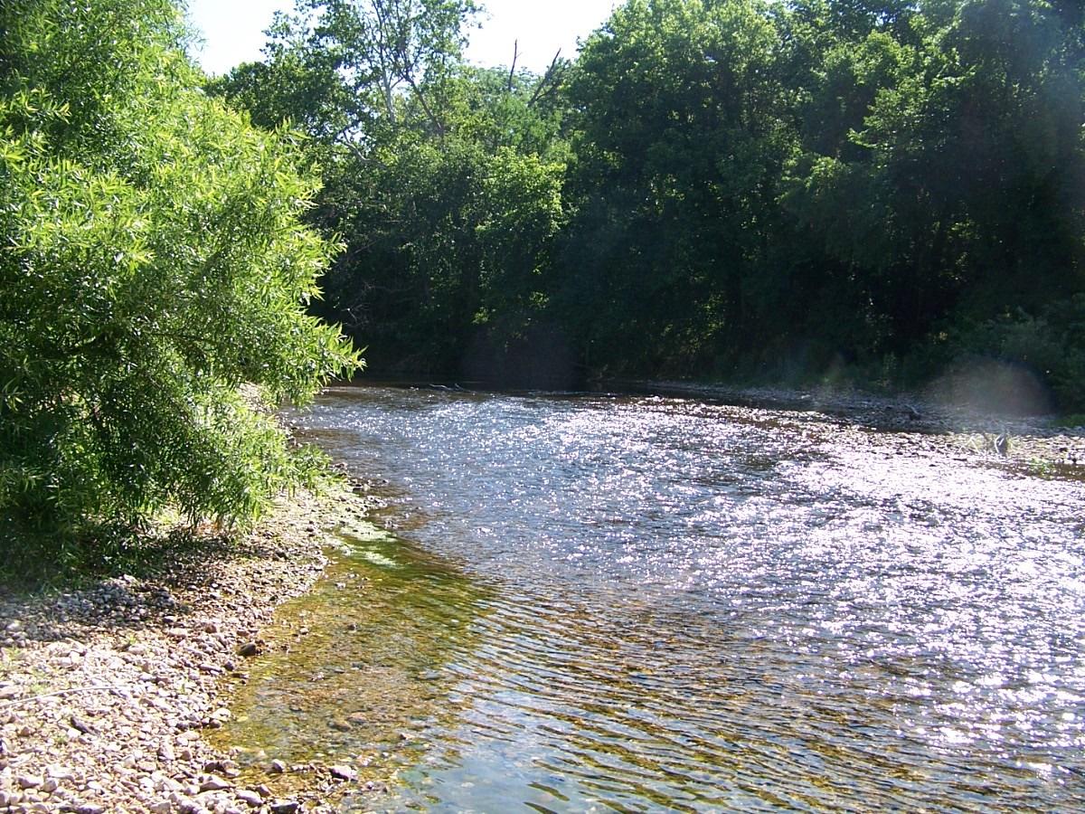 Crooked Creek in the Arkansas Ozarks
