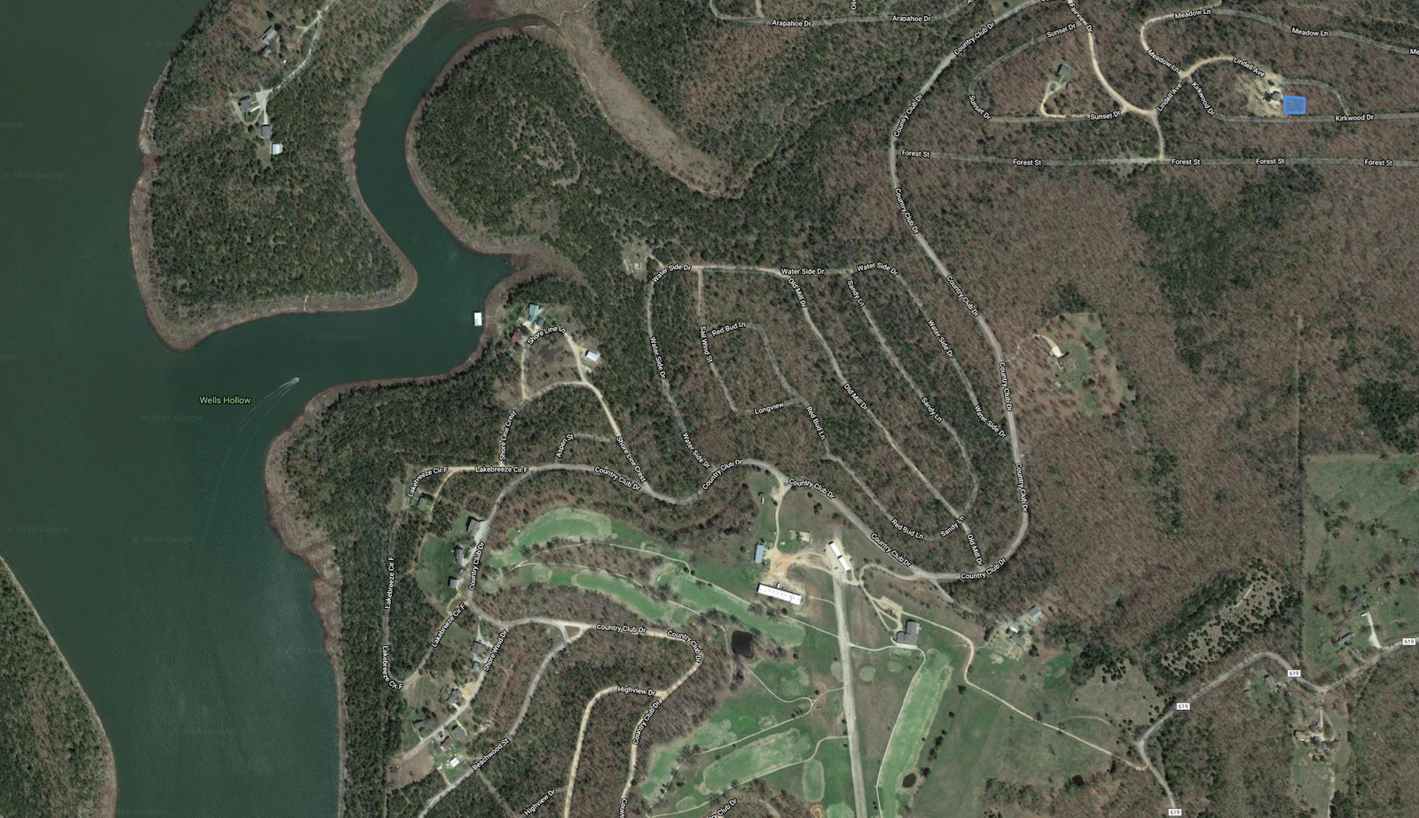 Lot for Sale at Bull Shoals Lake in the Missouri Ozarks
