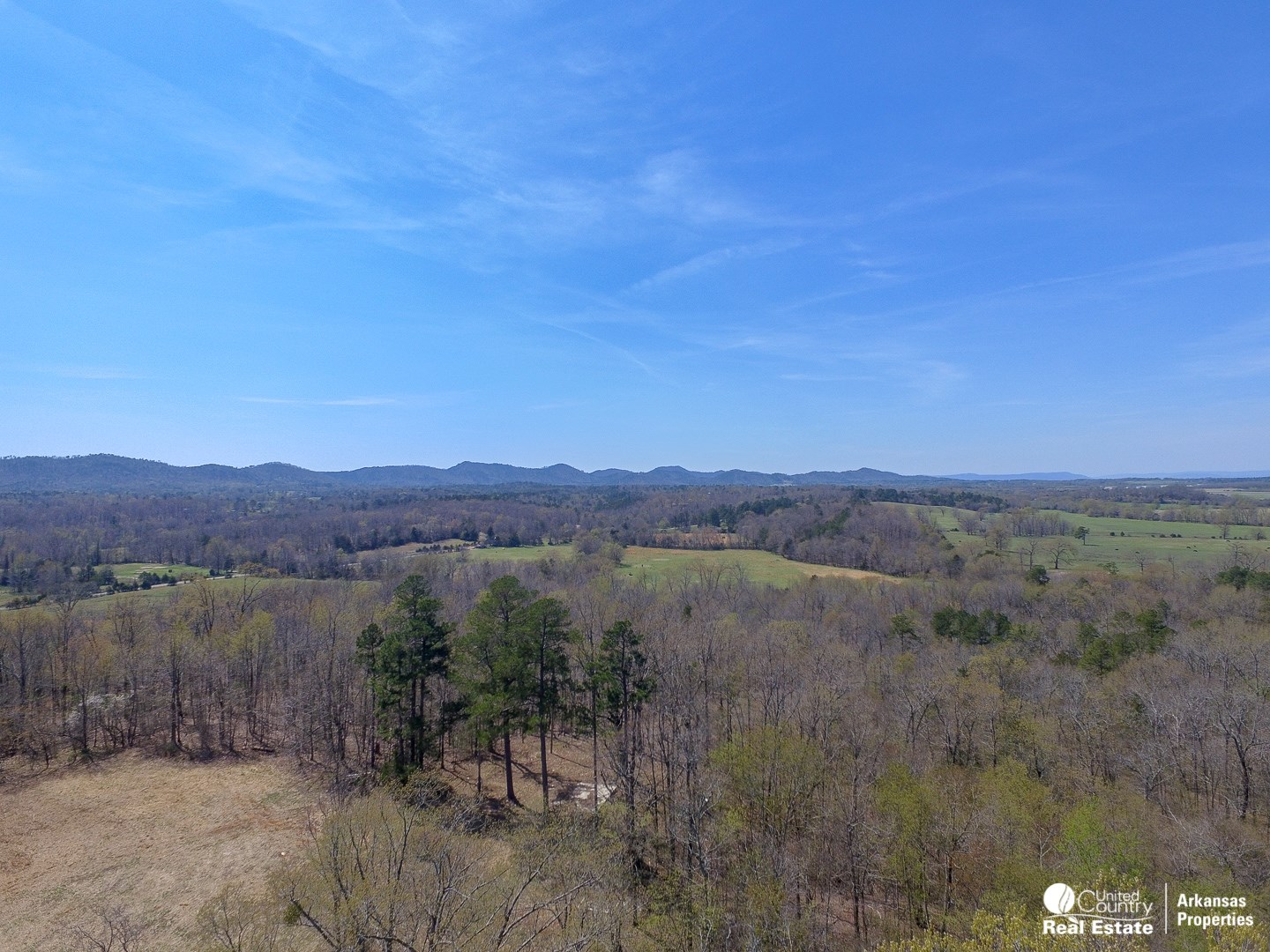Acreage with a view close to town.