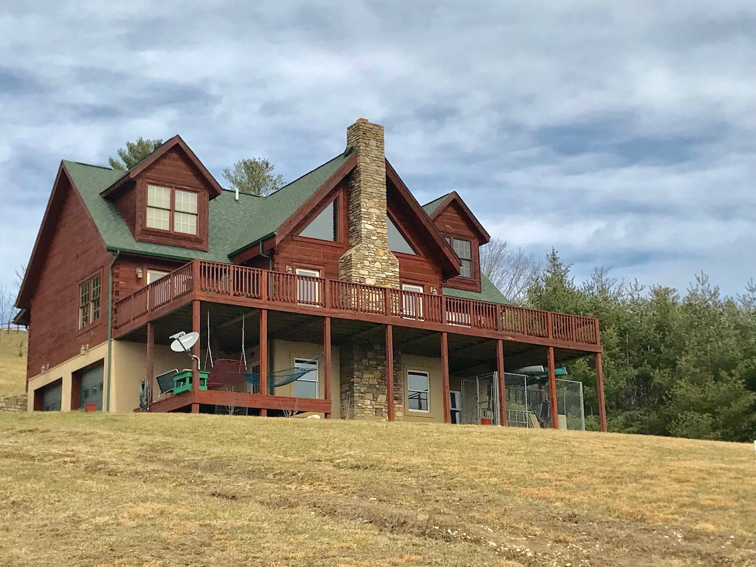 Log Cabin Home for Sale in Pilot VA!