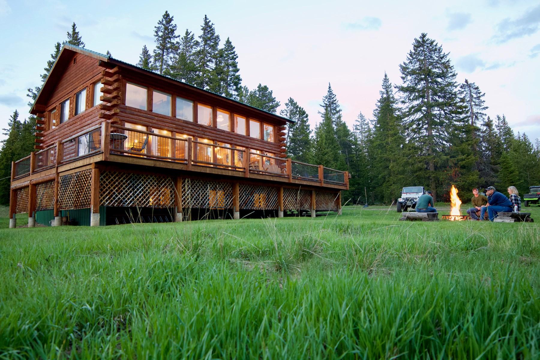 Colorado Mountain Cabin Retreat For Sale