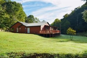 Gorgeous WV Log Home with 85 Acres and Free Gas!