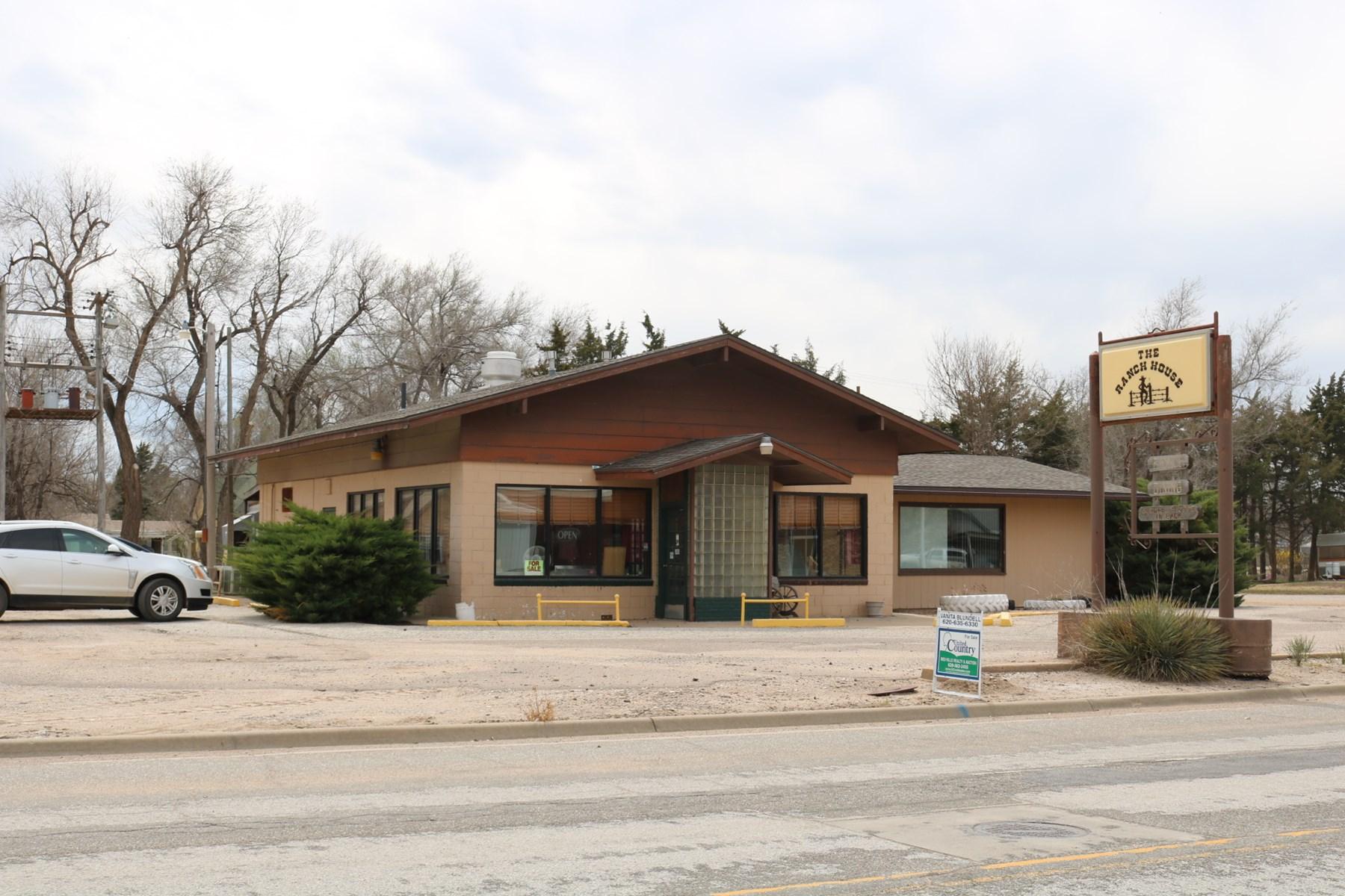 Restaurant and Bar For Sale In Ashland, Clark County, Kansas