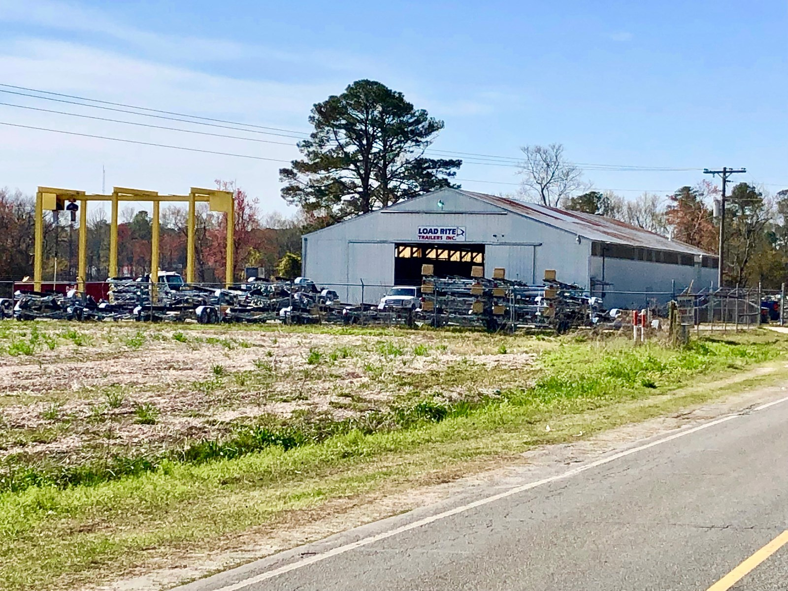 Commercial Property with Warehouse in Beaufort County, NC