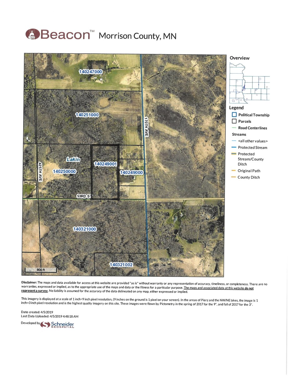 Morrison County Land For Sale