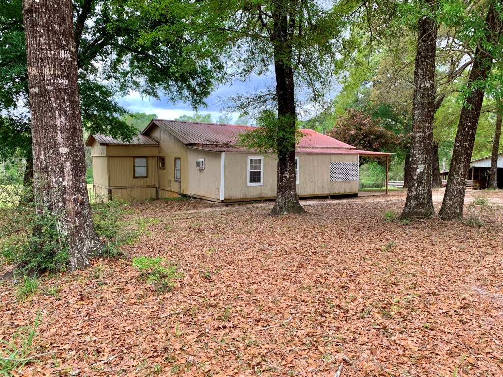 HOME AND 7 ACRES W A CREEK FOR SALE HARTFORD, ALABAMA
