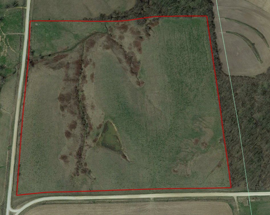 40 Acres Pasture Hay in Davis Co. IA For Sale
