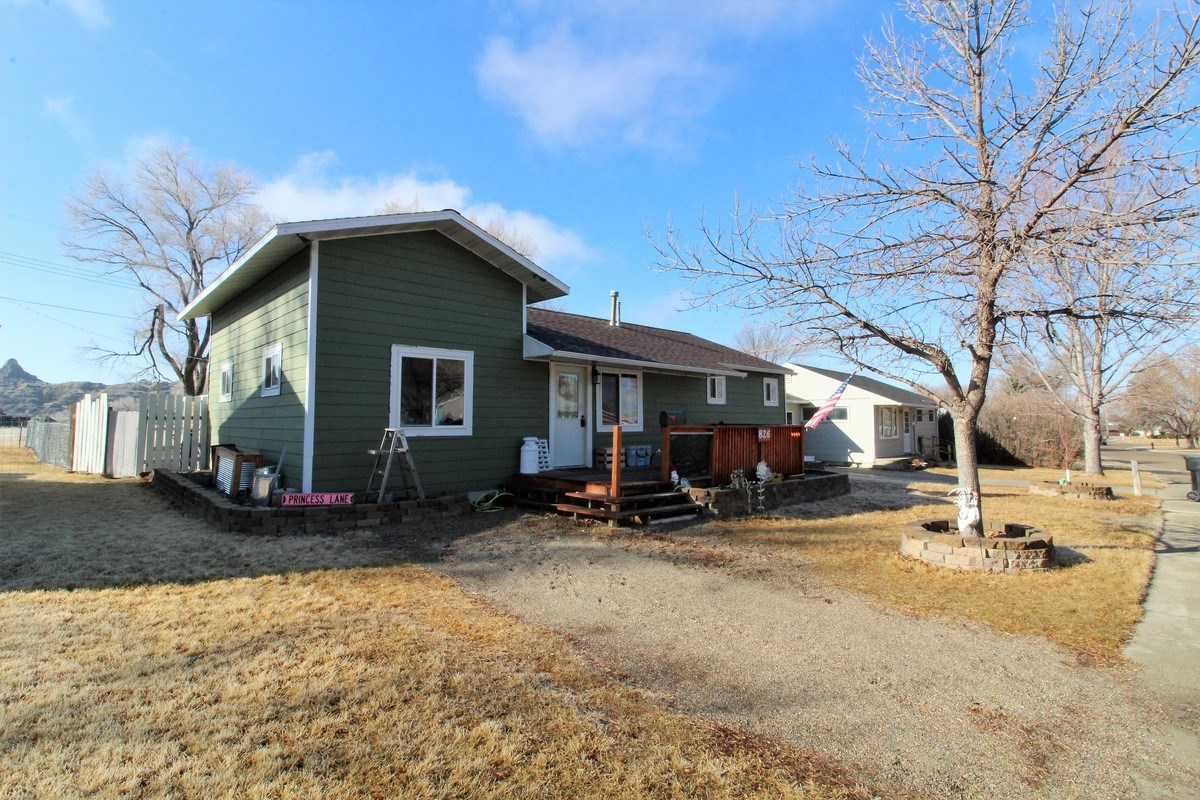 Remodeled 3 bedroom 2 bath home done with a rustic flair