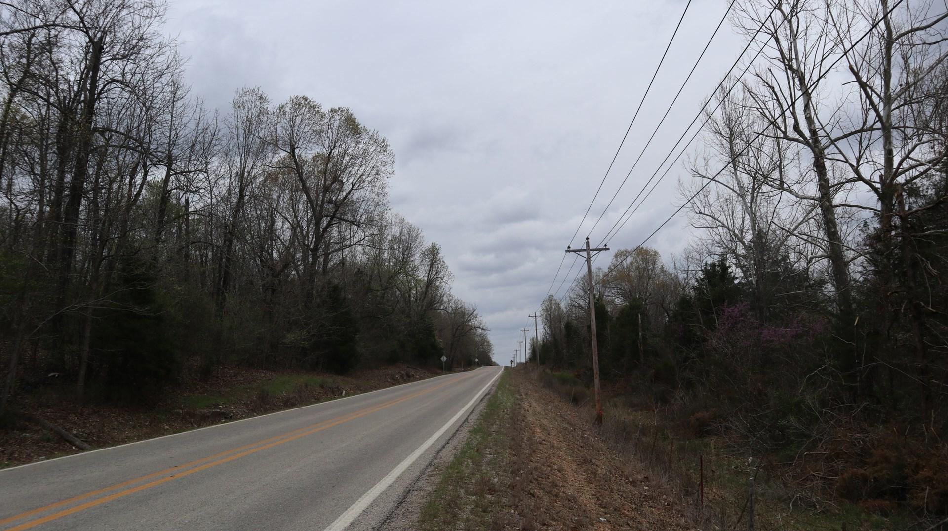 Highway Frontage Property for Sale near Salem Arkansas