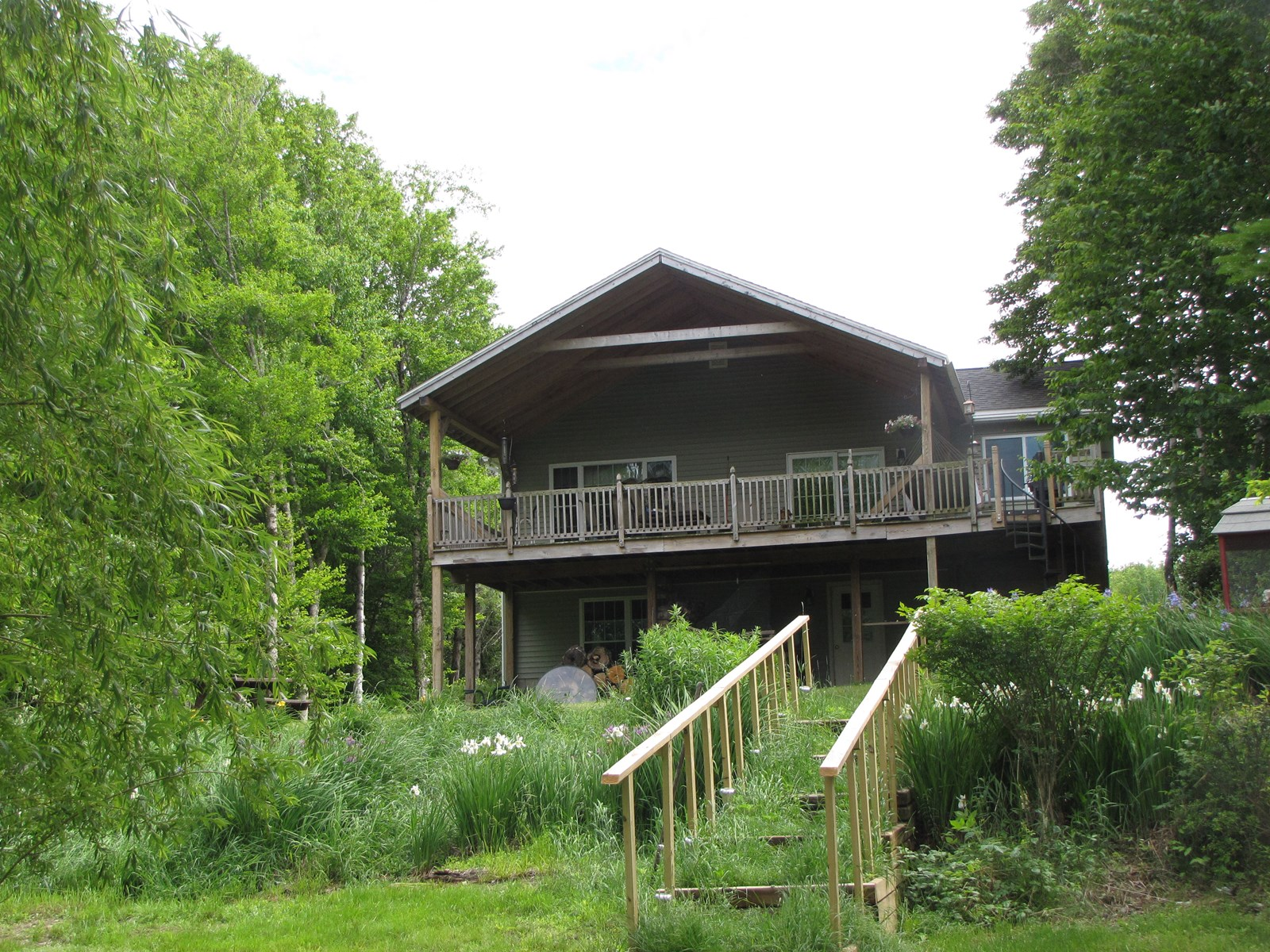 Home for Sale in East Machias, Maine, on Hadley Lake