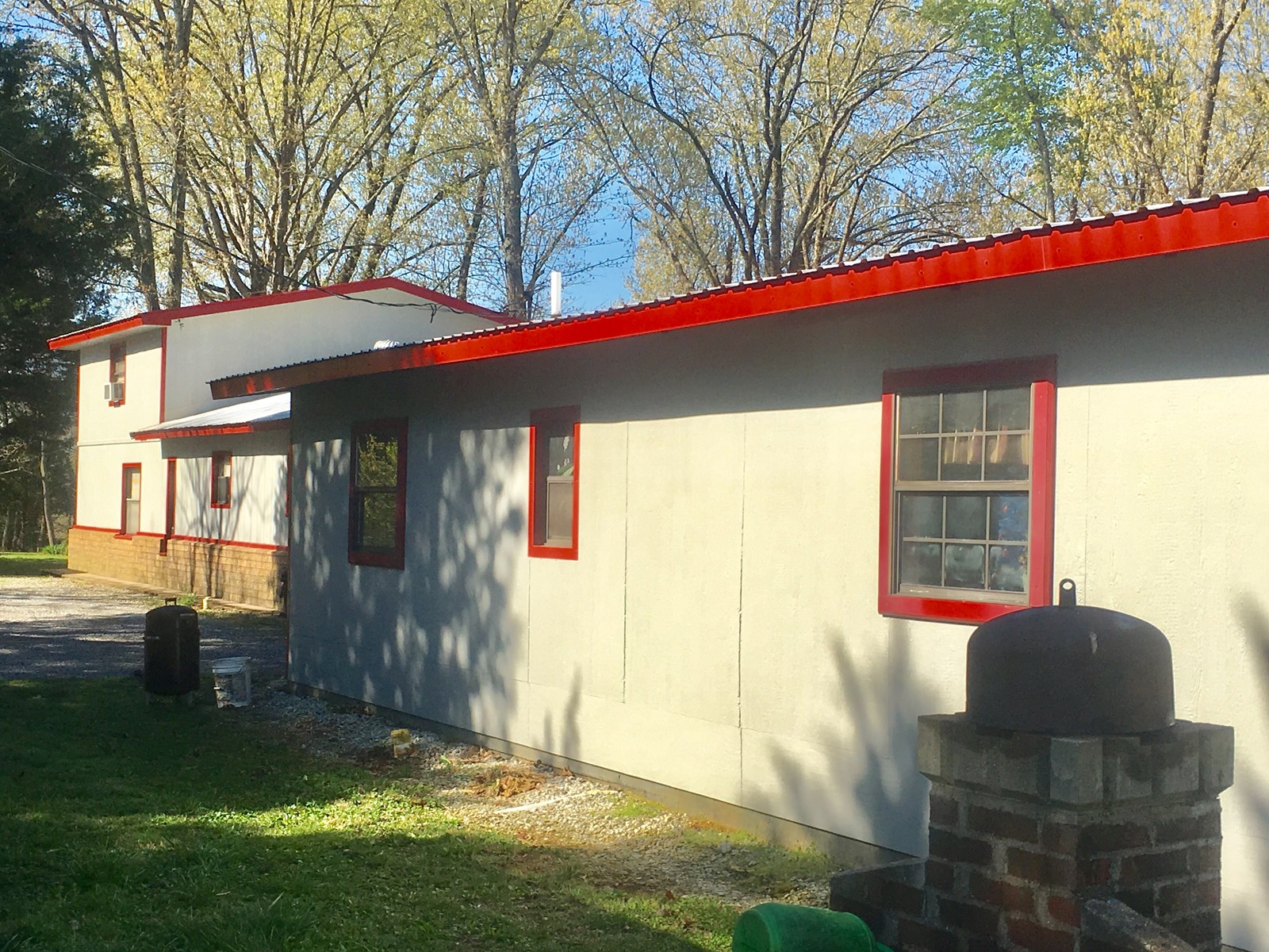 Country Home on 13 acres for sale north Arkansas, 4 BR 2 BA