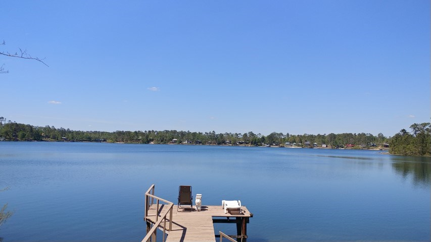 Lake home on beautiful,private Lake Mystic in Bristol, FL
