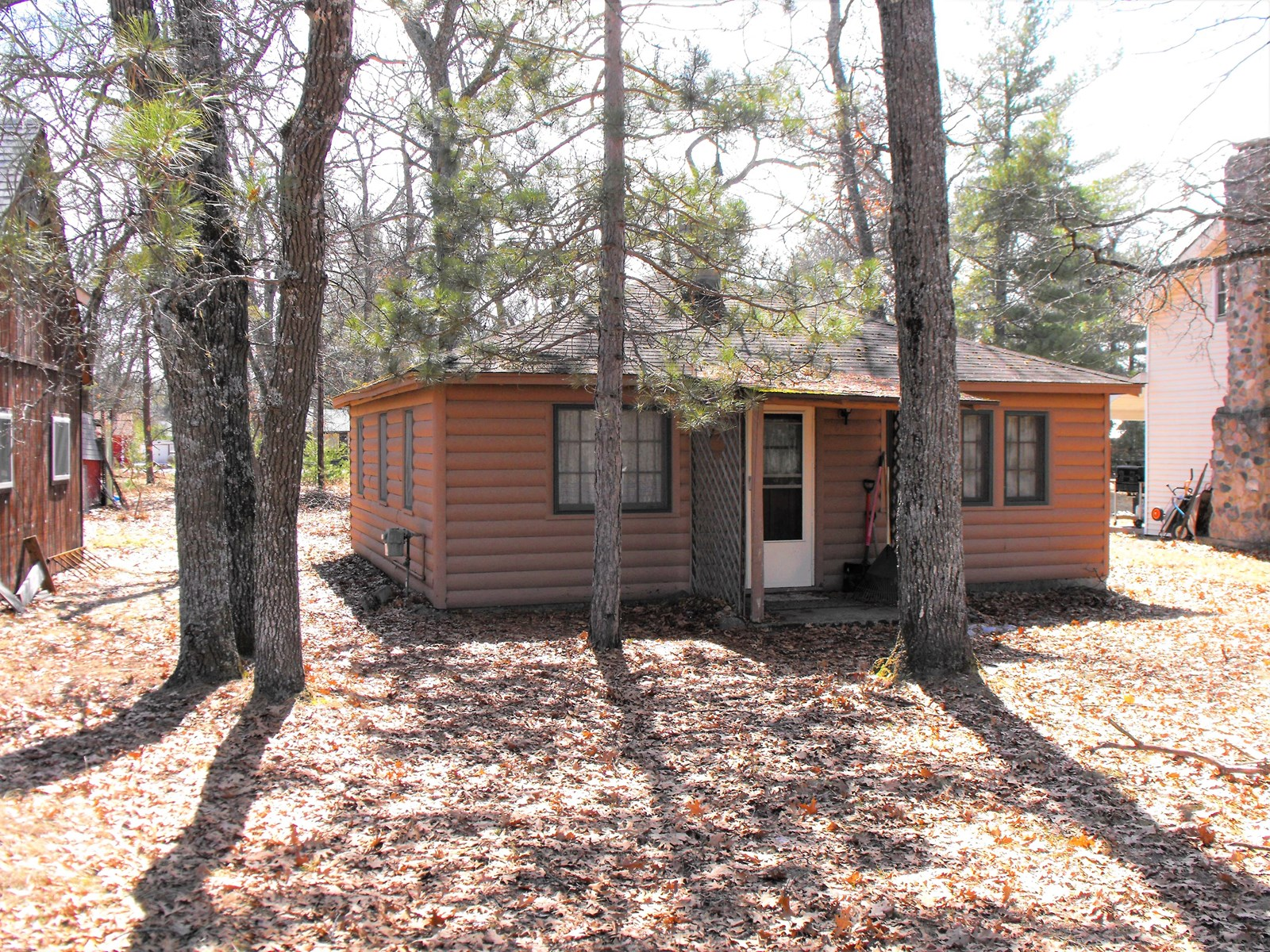 Rustic Cabin located Canada Creek Ranch near Atlanta MI