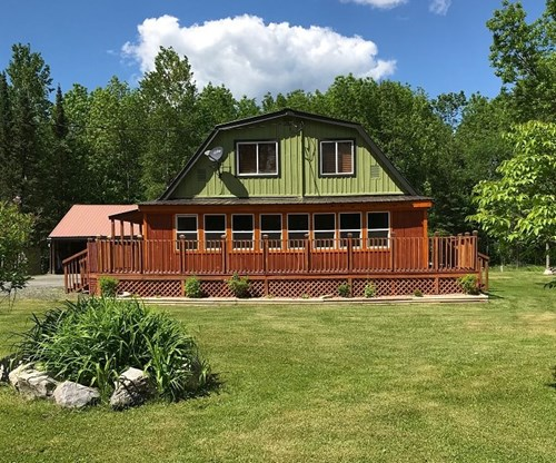 Country home for sale located in Ray Minnesota.