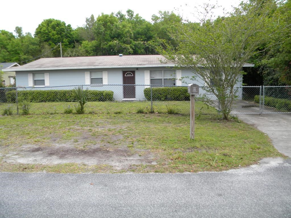CONCRETE BLOCK HOUSE NORTH CENTRAL FLORIDA