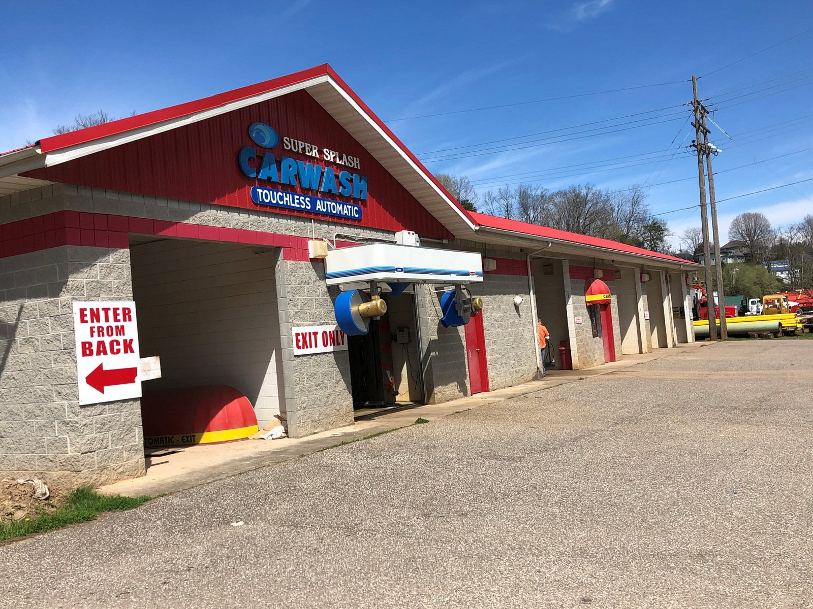 PRIME COMMERCIAL LOT w/ CARWASH, ROANE COUNTY, SPENCER! WOW!
