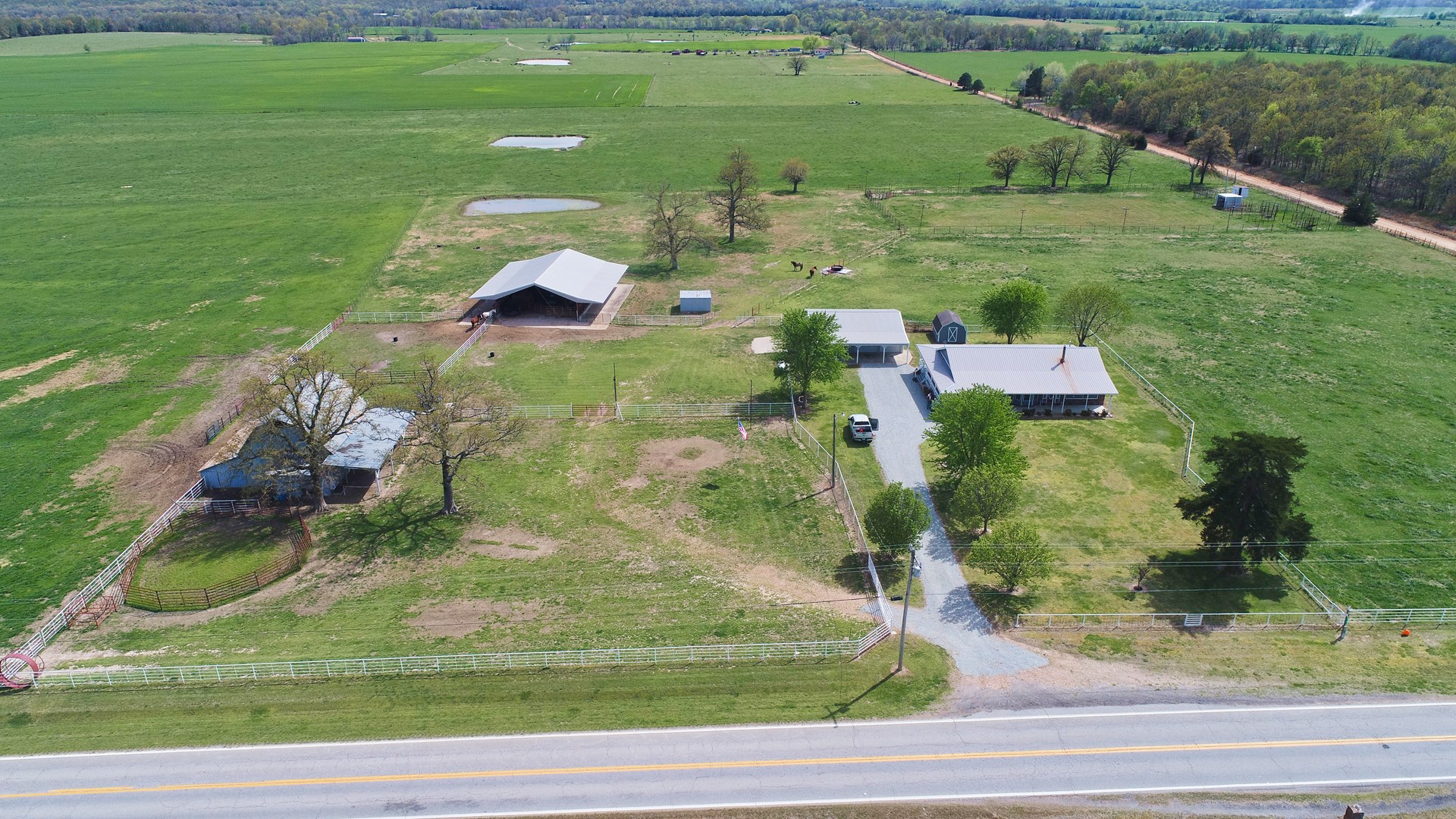 Country home and 80 acres in NE OK.