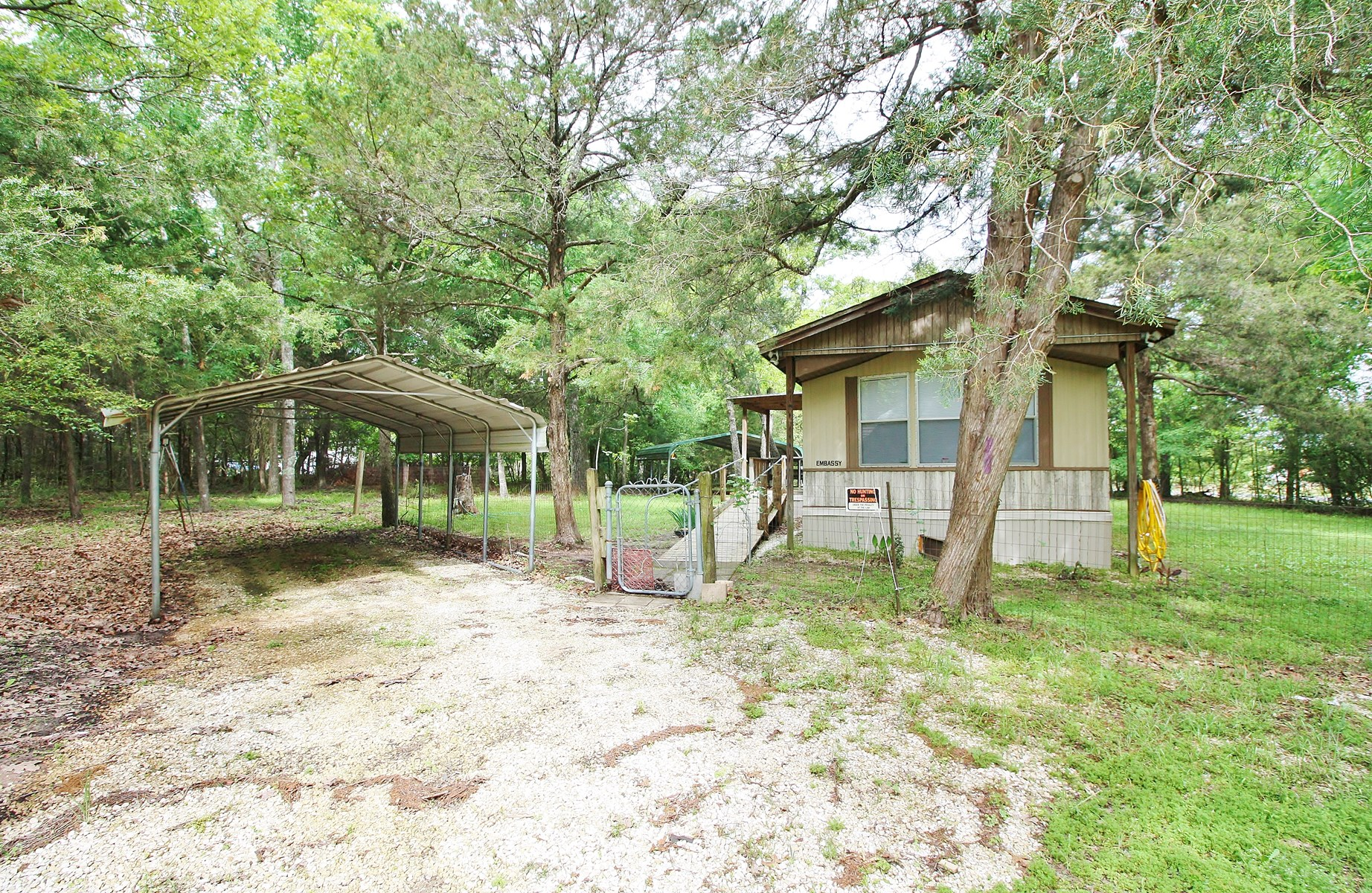 Off Water Lake Limestone Home on Acreage