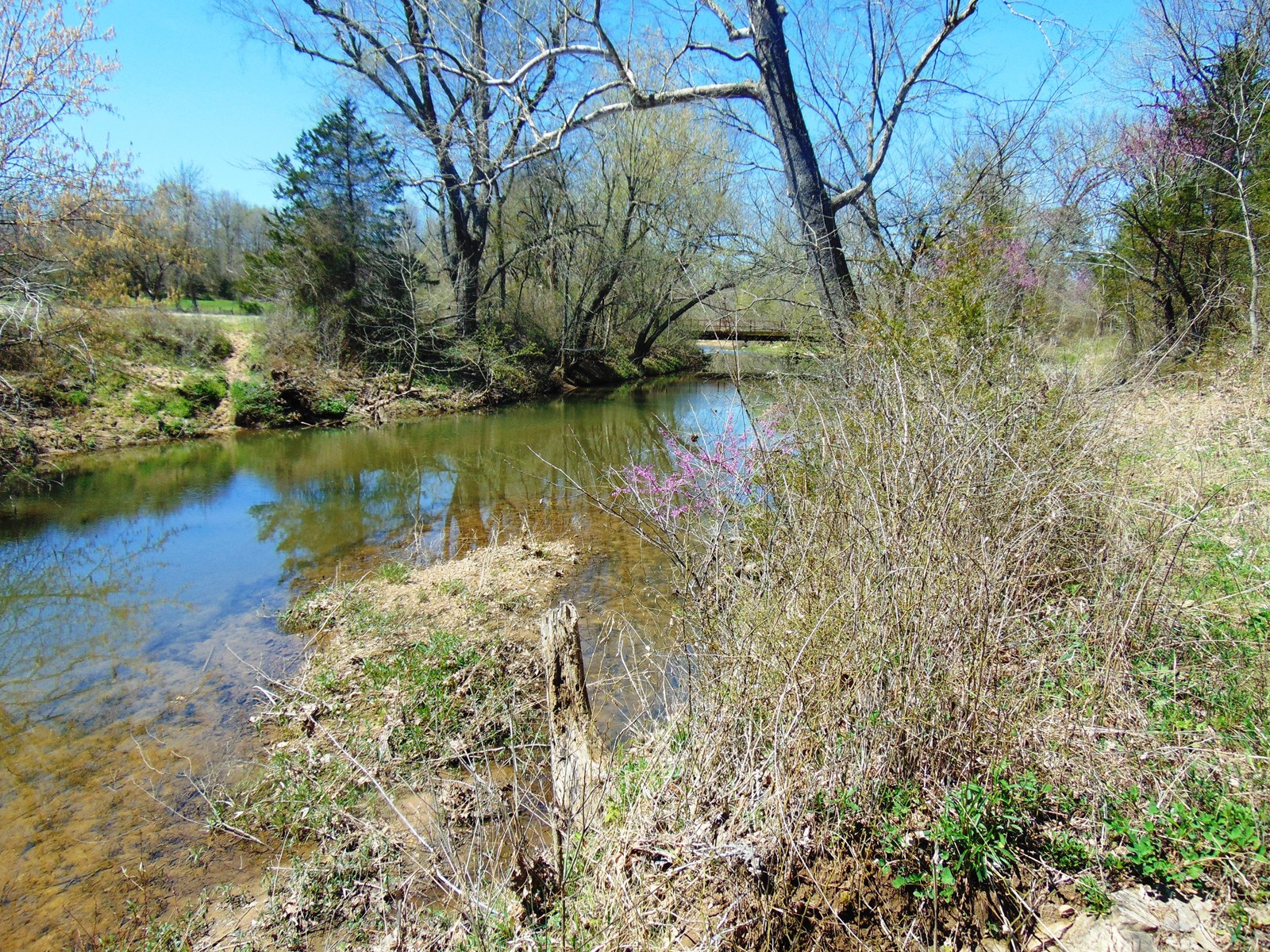 Acreage with well on Big Creek in  North Arkansas for sale