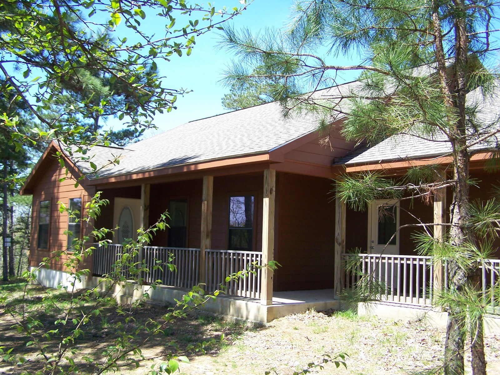 Arkansas Country Home with Acreage For Sale Searcy County