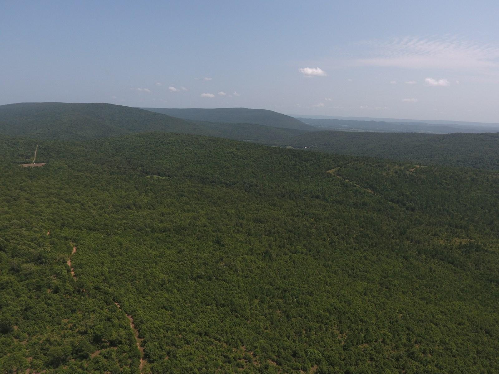 Mountain Land for sale Wilburton OK 74578