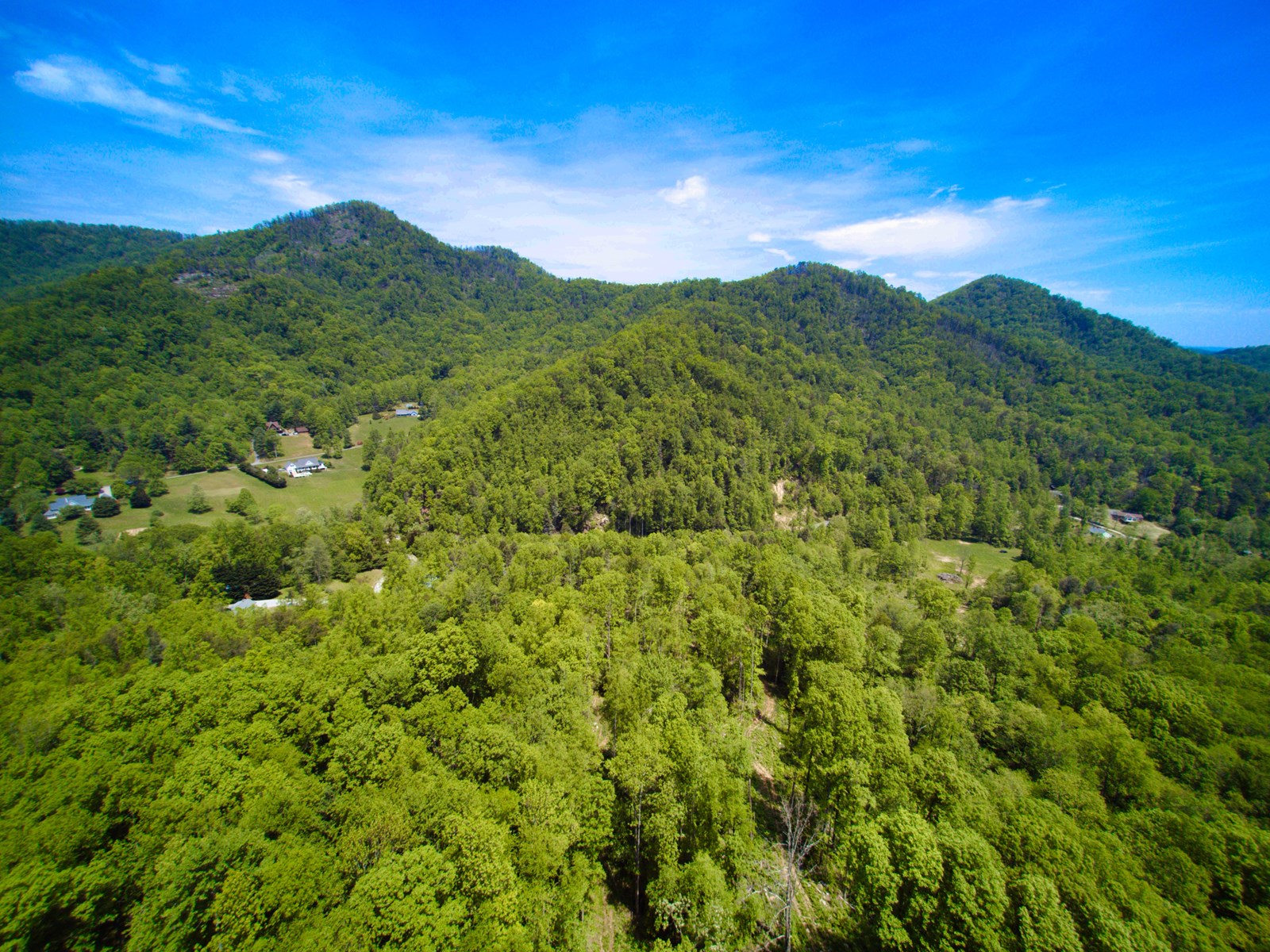 Mountain Acreage With Gorgeous View For Sale in Marion NC