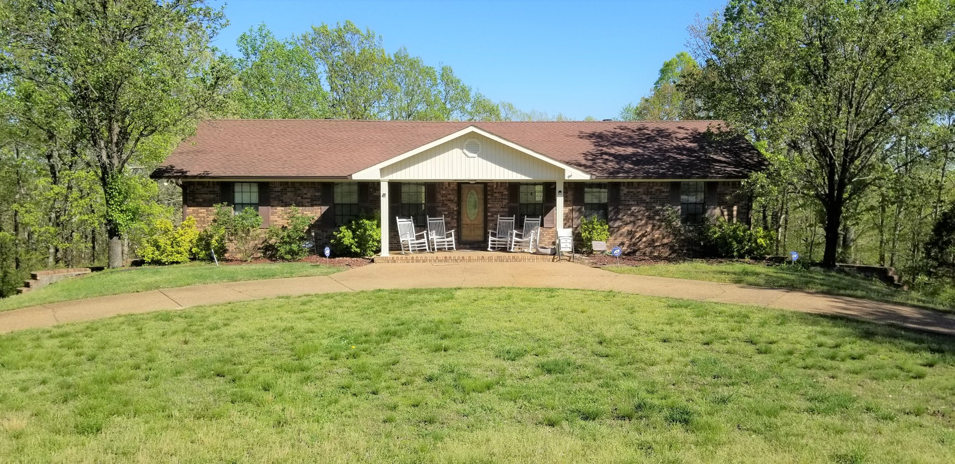 Country Home w/17 Acres in Linden, TN Minutes From Town