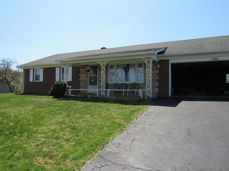 Single Story Brick Ranch for Sale in Floyd VA