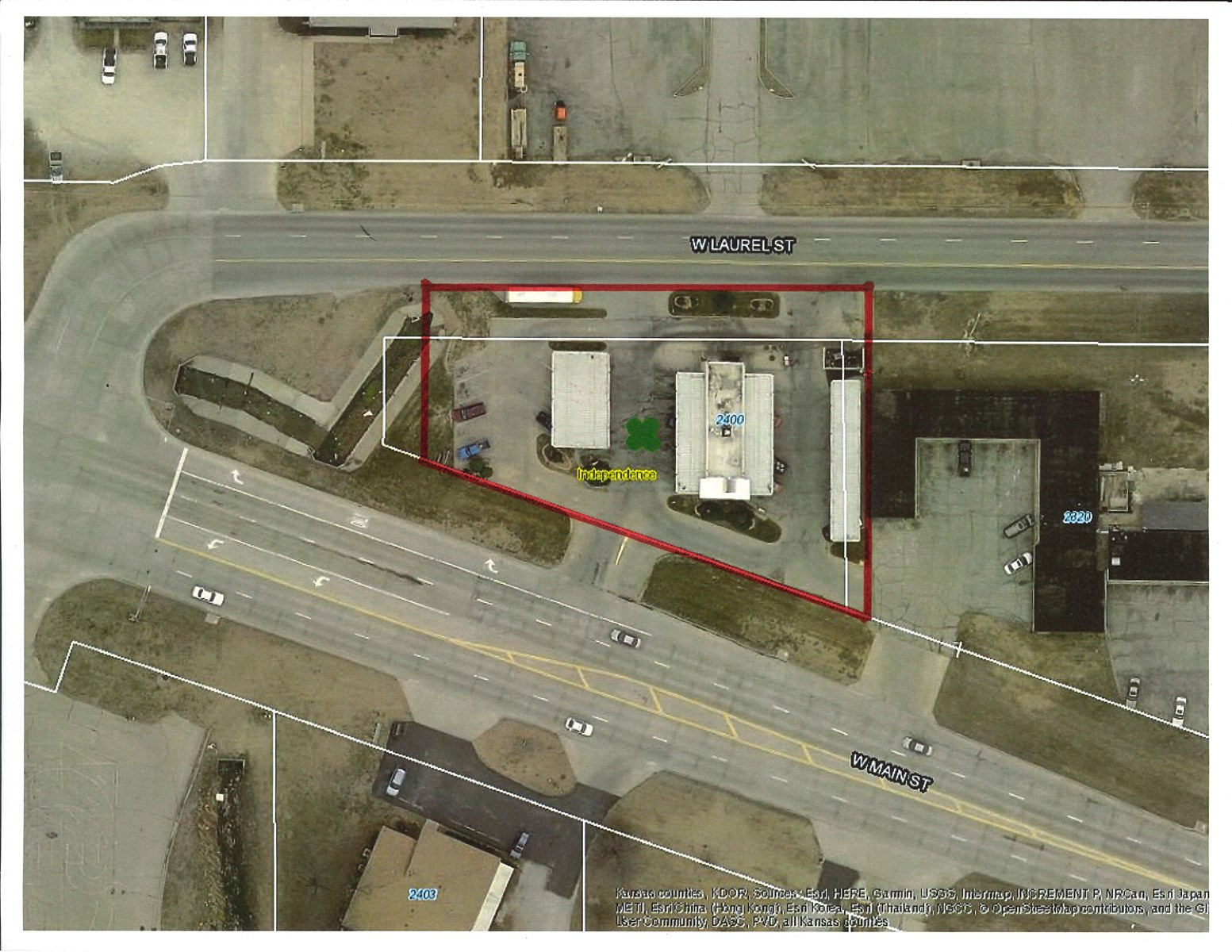 Commercial Land for sale in Independence KS