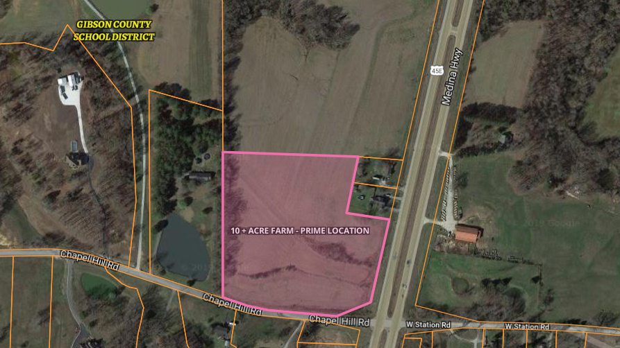 10 Acre Tract Outside City Limits, Custom Home Building Site