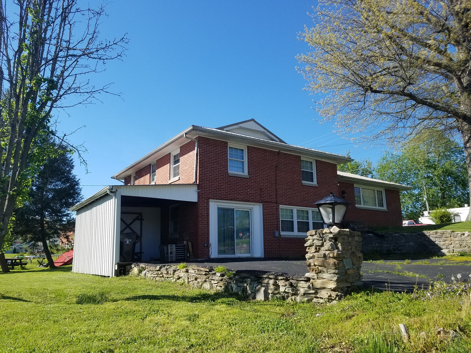 Nice home in town, with basement located on a corner lot.
